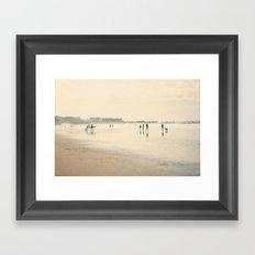 beach life II Framed Art Print