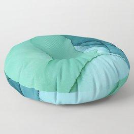 Sea Ink Floor Pillow
