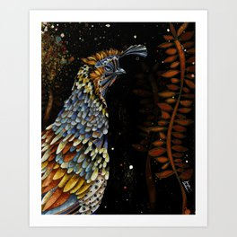 QUAIL KREIOS Art Print
