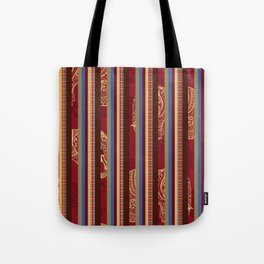 Lindsay Stripe Tote Bag