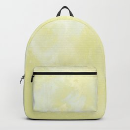 Yellow marble Backpack