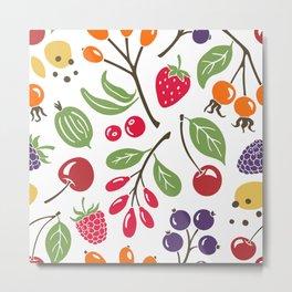Wild berry Metal Print