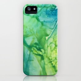 Abstract: One Road Out iPhone Case