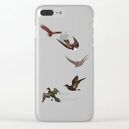 Holding Pattern Clear iPhone Case
