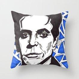 Walk on the Wild Side -- Lou Reed Throw Pillow