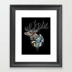 Wapiti Framed Art Print