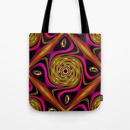 Groovy retro pattern Tote Bag
