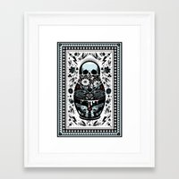 russian Framed Art Prints featuring Russian Doll by koivo