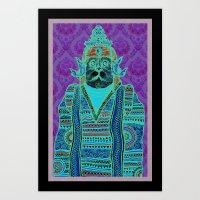 persian Art Prints featuring Persian by MR VELA