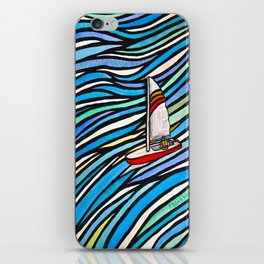 Wind Over Water iPhone Skin