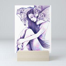 Raised By Wolves Mini Art Print