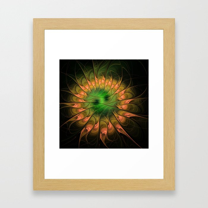 flamedreams -61- Framed Art Print