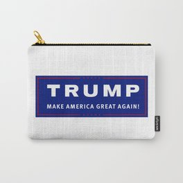 trump make america great again Carry-All Pouch