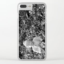 Garden Buddha Clear iPhone Case
