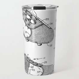 Futbol shoes Travel Mug