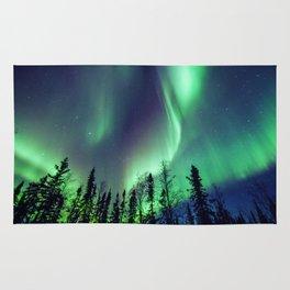 Northern Lights in Yellowknife Rug