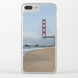Another Foggy Day In San Francisco Clear iPhone Case