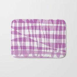 Purple/Violet Pattern Bath Mat