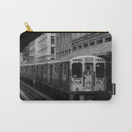 Green Line Carry-All Pouch