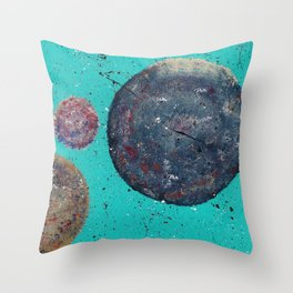 Celestial Shapes Throw Pillow