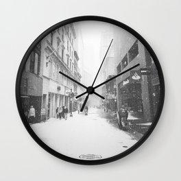 Lost City Wall Clock