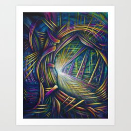 Bright Future Art Print