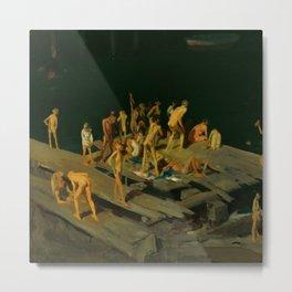 "George Wesley Bellows ""Forty-two Kids"" Metal Print"