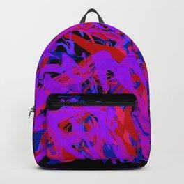 fame on black Backpack