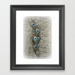 Peacock Summer Framed Art Print