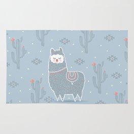 Alpaca winter Rug