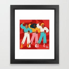 Ladies Night Framed Art Print