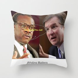 Welcome to the Club! Throw Pillow