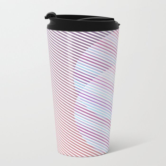 Intersect Metal Travel Mug