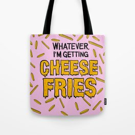 Cheese Fries Tote Bag