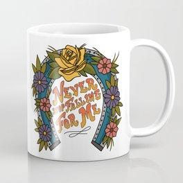 Never Stop Falling For Me Coffee Mug