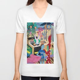 The Visitor Unisex V-Neck