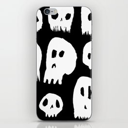 Spooky Skulls iPhone Skin
