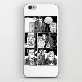 Johnny Public chapter 10, page 19 iPhone Skin