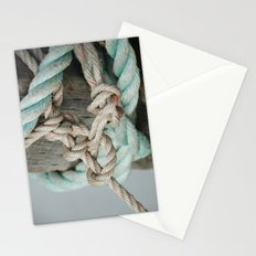 TIED TO THE MOORING #1 Stationery Cards