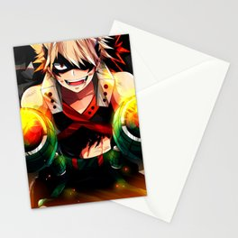 Bakugo Katsuki Hero Stationery Cards