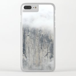 Misty in the Park Clear iPhone Case