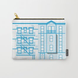 Buildings - nyc vs istanbul Carry-All Pouch