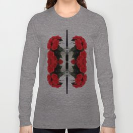 Summer Red Skulls 2012 Long Sleeve T-shirt