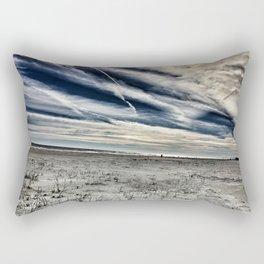 St. Augustine Beach Rectangular Pillow