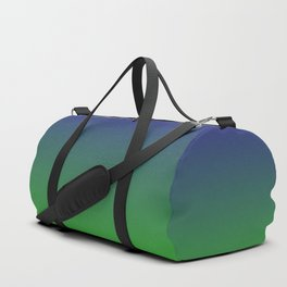 Ombre | Blue and Green Duffle Bag