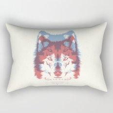 WOLF 3D Rectangular Pillow