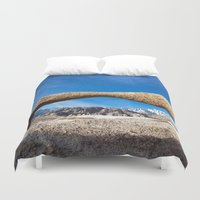 alabama Duvet Covers featuring Alabama Arch by davehare