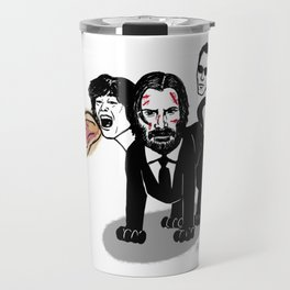 Keanu Reeves Chimera Travel Mug