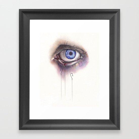 You Caught My Eye Framed Art Print