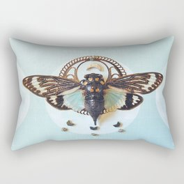 moon cicada Rectangular Pillow